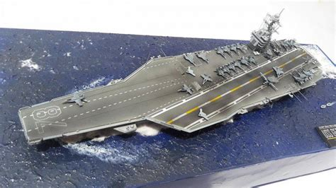 1/700 scale USS Gerald Ford CVN-78 (Modified build)   iModeler