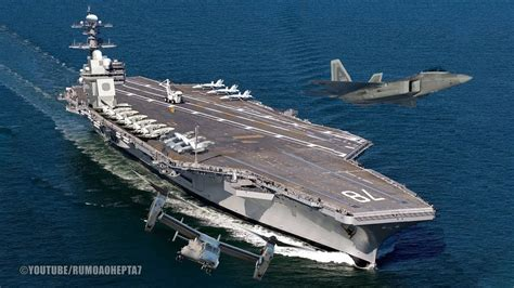 World's Largest Supercarrier USS Gerald R Ford (CVN 78