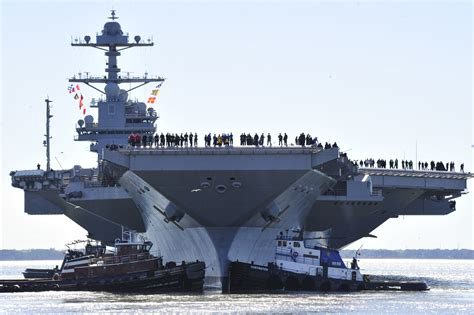America's Next Super Aircraft Carrier Is 50 Percent