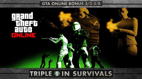 GTA Online Has Triple GTA$ on Offer For Survival Jobs This